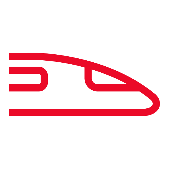 TGV Lyria train icon