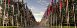 The Palais des Nations at Geneva