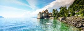 TGV Lyria - Chillon castle at Montreux with Combined Offers